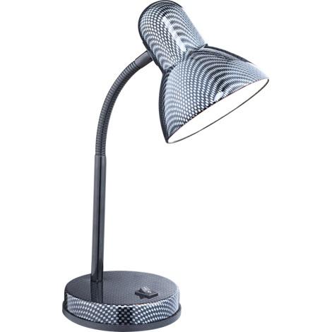 GLOBO 24893 - stolná lampa CARBON 1xE27/60W