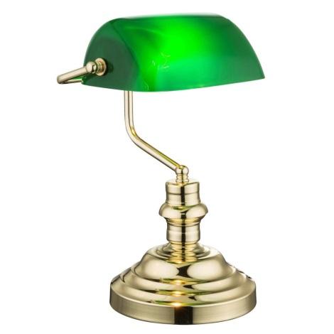 Globo 2491K - Stolná lampa ANTIQUE 1xE27/60W/230V