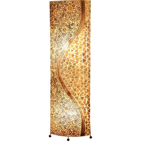 GLOBO 25824 - Stojací lampa BALI 2xE27/60W
