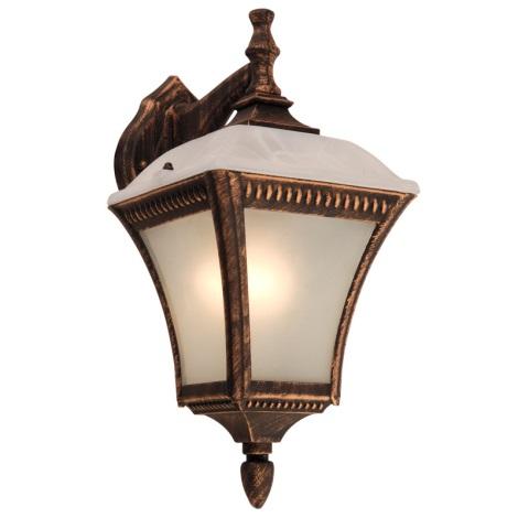 Globo 31591 - Vonkajšie nástenné svietidlo NEMESIS 1xE27/60W/230V