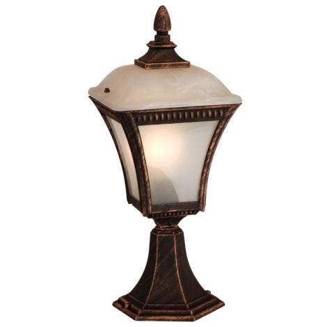 Globo 31592 - Vonkajšia lampa NEMESIS 1xE27/60W/230V