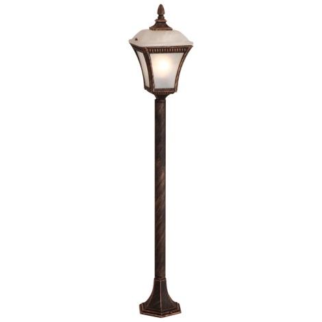 Globo 31593 - Vonkajšia lampa NEMESIS 1xE27/60W/230V