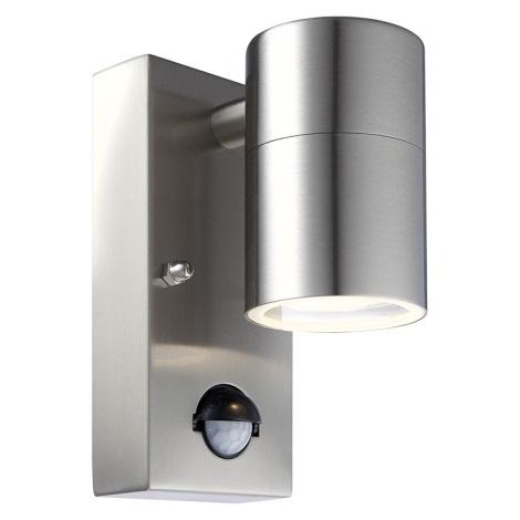 Globo 3201S - Vonkajšie nástenné svietidlo s čidlom STYLE 1xGU10/35W/230V