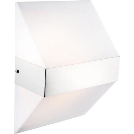 Globo 32096 - Vonkajšie nástenné svietidlo PAULIN 1xE27/11W/230V