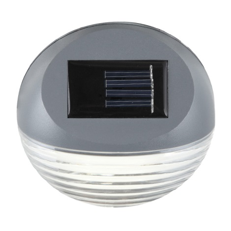 Globo 33429-12 - Solárne nástenné LED svietidlo SOLAR 2xLED/0,06W/3,2V
