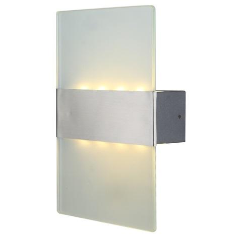 Globo 34165 - Vonkajšie nástenné LED svietidlo NEEA 8xLED/0,5W/230V