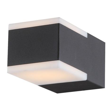 Globo 34282 - Vonkajšie nástenné LED svietidlo NESO 2xLED/4,5W/230V