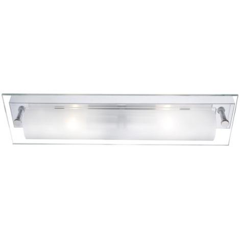 GLOBO 4111 - Nástenné svietidlo LINE II 2xE14/40W