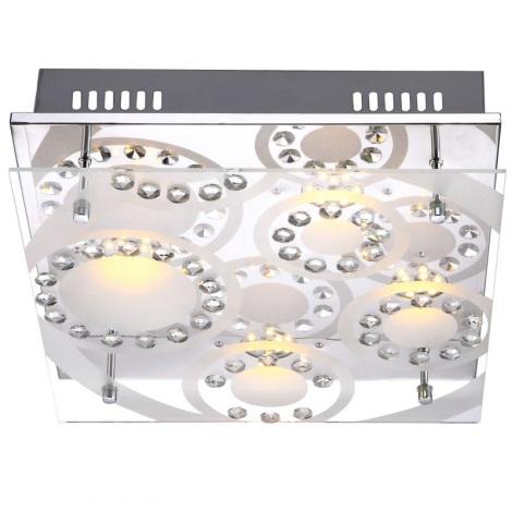 Globo 41690-4 - LED stropné svietidlo TISOY 4xLED/4W/230V