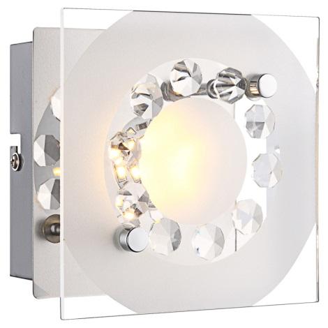 Globo 41690 - LED nástenné svietidlo TISOY 1xLED/4W/230V