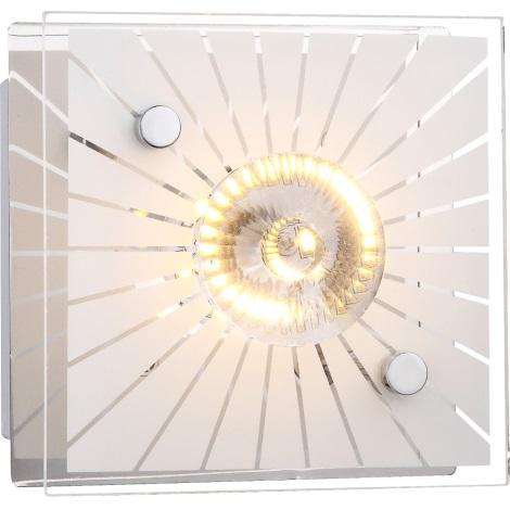 GLOBO 41691 - Nástenné LED svietidlo SANTI 1xLED/4W/230V