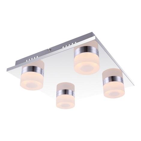 Globo 42504-4 - LED stropné svietidlo PANAMERA 4xLED/4W/230V