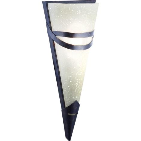 GLOBO 4413-1 - nástenné svietidlo RUSTICA II 1xE14/40W