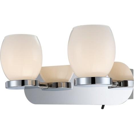 GLOBO 44200-2 - Kúpľňové nástenné LED svietidlo DANO 2xLED/3W/230V