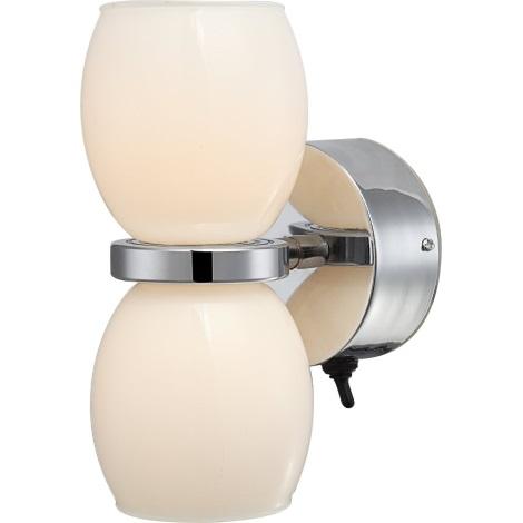 GLOBO 44200-2W - Kúpeľňové Nástenné LED svietidlo DANO 2xLED/3W/230V