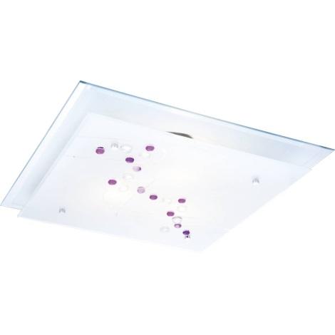 GLOBO 48072 - 3 - Stropné svietidlo BALLERINA 3xE27/60W
