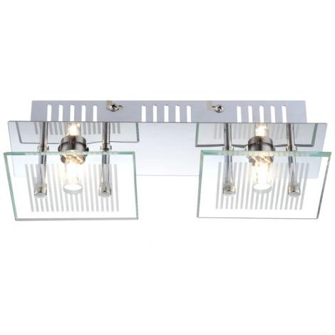 GLOBO 49201-2 - Stropné svietidlo GILMA 2xG9/33W/230V