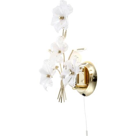 GLOBO 5107 - Nástenné svietidlo FLOWER 1xE14/40W
