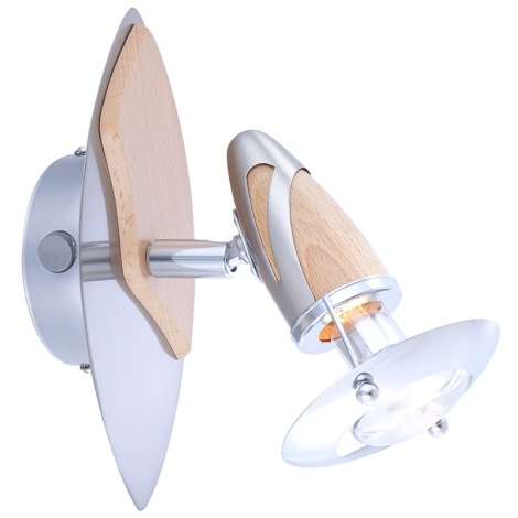 GLOBO 5433-1 - Bodové nástenné svietidlo LORD 1xE14/40W/230V