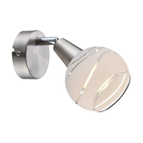 Globo 54341-1 - LED nástenné svietidlo ELLIOTT 1xE14 / 4W / 230V