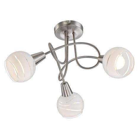 Globo 54341-3 - LED stropné svietidlo ELLIOTT 3xE14 / 4W / 230V