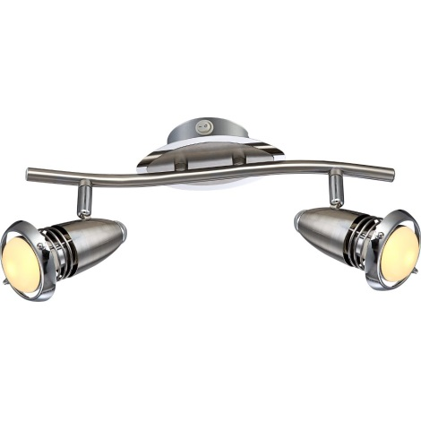 GLOBO 54342-2 - Bodové LED svietidlo DEXTER 2xE14/4W/230V