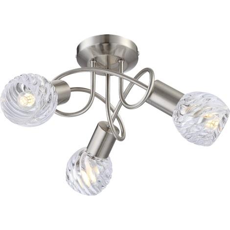 GLOBO 54344-3D - Prisadené LED svietidlo BORONIA 4xE14/4W/230V