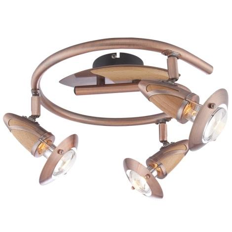 GLOBO 5436-3 - Bodové svietidlo LORD 3xE14/40W/230V