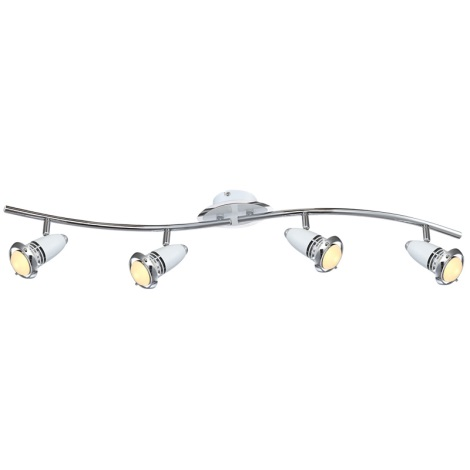 Globo 54381-4 - LED bodové svietidlo BIANKA 4xE14/4W/230V