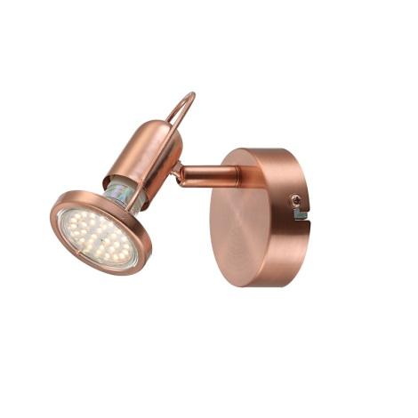 GLOBO 54383-1 - Bodové LED svietidlo COPPER 1xLED / 3W / 230V