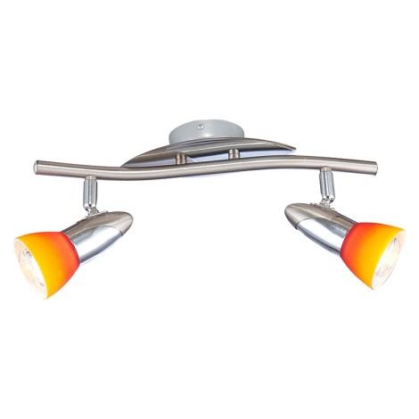 GLOBO 5442-2 - Nástenné stropné svietidlo LORD IV 2xE14/40W/230V