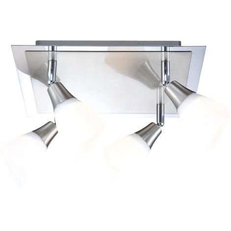 GLOBO 5450-4 - Bodové svietidlo FRANK 4xE14/40W