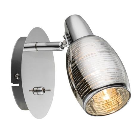 Globo 54986-1 - Bodové svietidlo CARSON 1xE14/40W/230V