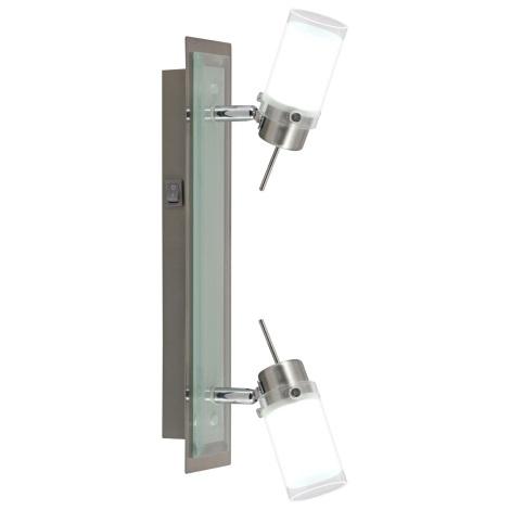 GLOBO 56198-2 - LED nástenné svietidlo WILSON LED 2xLED/4W/24V