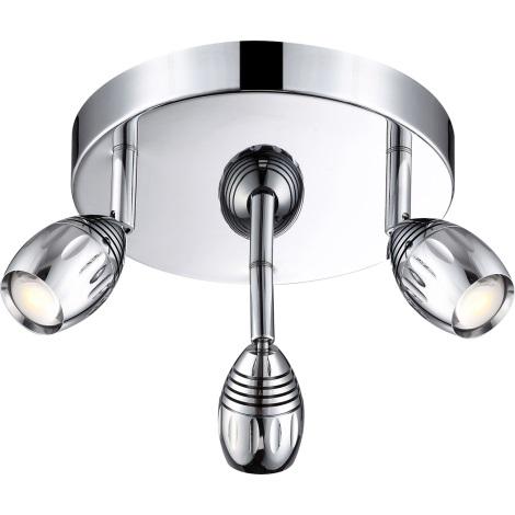 GLOBO 56203-3 - LED Bodové svietidlo MORELIA 3xLED/5W