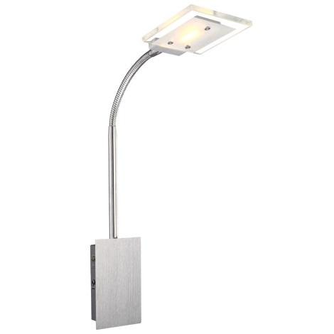 Globo 56204-1W - Nástenné svietidlo AURELE LED 1xLED/5W/230V