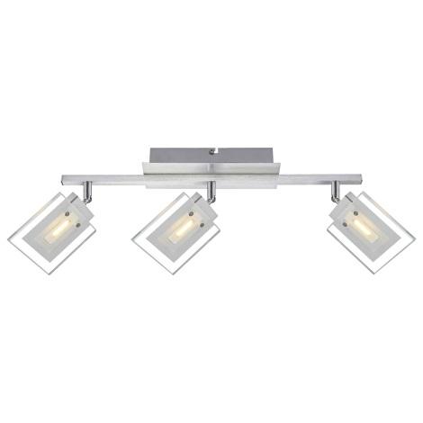 Globo 56204-3 - LED bodové svietidlo AURELE 3xLED/5W/230V