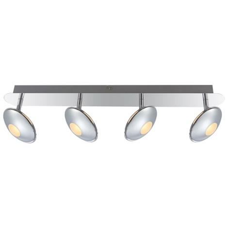 Globo 56210-4 - LED bodové svietidlo CHROM 4xLED/6W