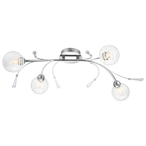 GLOBO 56393-4D - LED Stropné svietidlo DANAS 4xG9/28W