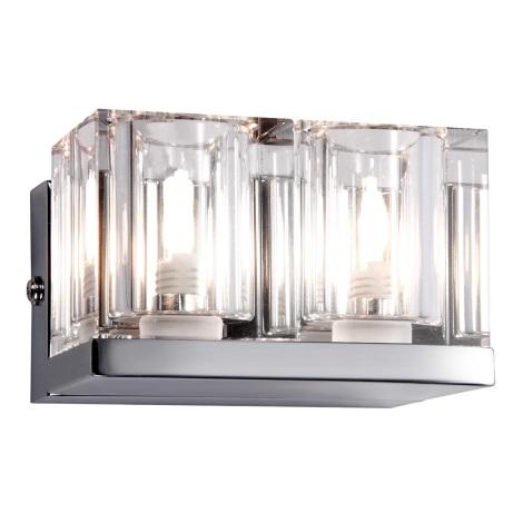 GLOBO 56440-2 - Nástenné svietidlo CUBS 2xG9/33W/230V