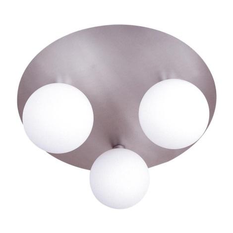 GLOBO 5661 - 3 - Stropné bodové svietidlo NEW DESIGN 3xG9/40W