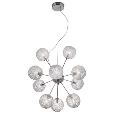 GLOBO 56620-10H - závesné stropné svietidlo ENIGMA 10xG9/33W