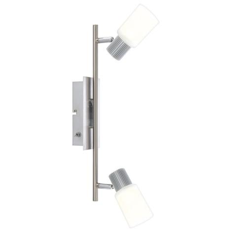 Globo 56913-2 - LED Nástenné svietidlo LISTER 2xLED/5W/6,5V