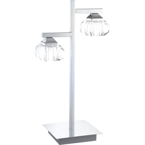 GLOBO 5692 - 2T - Stolná lampa CUBUS 2xG9/33W