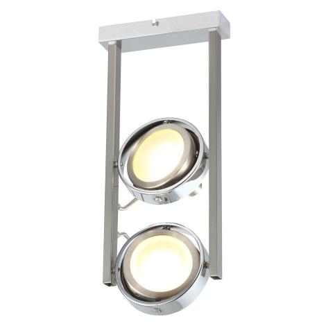 GLOBO 56946-2D - Stolná lampa BARONI 2xLED/5W/15V
