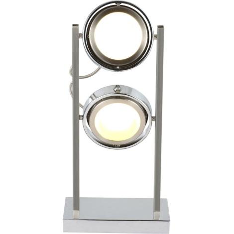 GLOBO 56946-2T - Stolná lampa BARONI 2xLED/5W/15V