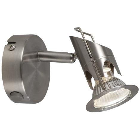 GLOBO 57350-1 - Bodové nástenné svietidlo MOA 1xGU10/50W/230V
