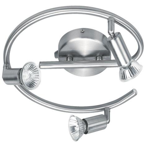 GLOBO 5739-3 - Bodové svietidlo HOT 3xGU10/50W/230V
