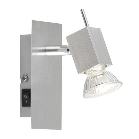 GLOBO 5787-1 - Bodové nástenné svietidlo CAREA 1xGU10/50W/230V