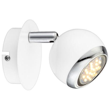 GLOBO 57882-1 - LED nástenné svietidlo OMAN 1xGU10 /2,5W